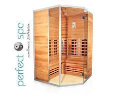 Sauna a raggi infrarossi angolare Teneriffa, per fino a max. 3 persone