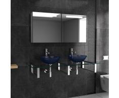 Mobili da bagno in vetro/lavaggio platzl oesung/doppio lavabo/Alpi Berger Serie 100/lavabo/lavaggio tavoli per il tuo Esclusivo bagno/Bagno/Ciotola in Vetro