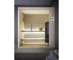 GRANDFORM sauna finlandese stufa elettrica 3 posti seduti, oppure 1 sdraiato .TOWER PRO 1812 (cm. 180 x 120 x 208 H.)