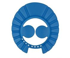 Ibepro Baby Shower Cap con orecchio di forma comoda regolabile morbido shampoo doccia cuffia da bagno per bambini