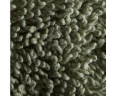 Pinzon by Amazon - Tappetino da bagno, in cotone lussuoso con lavorazione a riccio, verde, 53 x 86 cm