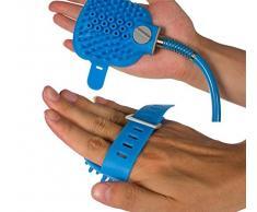 DOBO® Accessorio lavaggio cane doccia silicone tubo giardino pet toelettatura toletta getto soffione diffusore spazzola silicone