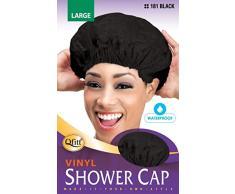Cuffia da doccia nero