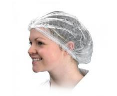 ULTNICE 100 pezzi Cuffia Doccia Capelli Usa E Getta Cappuccio in tessuto non tessuto monouso