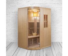 Combinazione di Sauna & cabina a infrarossi in uno