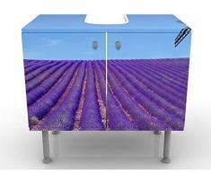Mobile per lavabo design Scent Of Lavender In The Provence 60x55x35cm , Größe:55cm x 60cm
