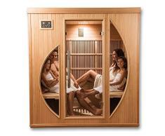 Sauna Infrarossi Khaleesi – 4 coperti