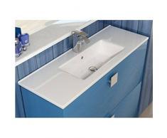 Lavabo da incasso su mobile Art&Bath, quadrato, 710 x 360 mm, (non include il mobile)