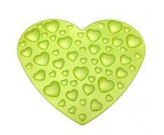 Outlook Design V842L10015 Valentino Tappeto da Doccia Antiscivolo, Verde Mela Perlato