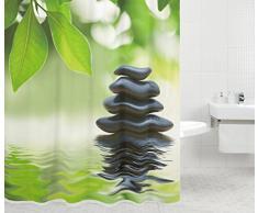 Sanilo Tende da doccia, 100% poliestere, Poliestere, Harmony, 180 x 200 cm