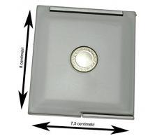Accessori bagno - Specchi da borsetta Specchio da borsa o borsetta compatto da trucco. Materiale: Plastica