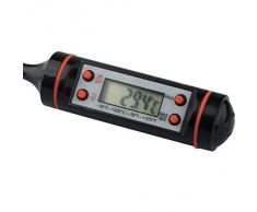 BOOLAVARD Termometro Sonda di Cottura Alimenti con LCD Digitale