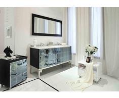 Lavabo doppio lavabo design in marmo vanità 54,5x81,7x165,3