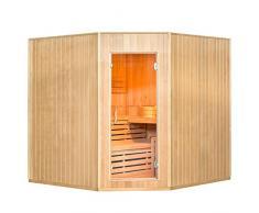 Tradizionale Sauna/Sauna Finlandese Aarhus 200 x 200 cm 8 KW