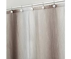 InterDesign Trellis tenda doccia, Granite, 180 x 180 cm