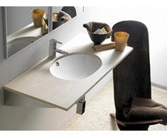 The Bath Collection – Lavabo Incasso Ovale Ancona 56,5 x 41,5 x 18 cm