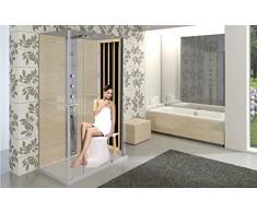 Pannello sauna infrarossi per doccia