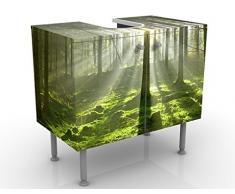 Mobile per lavabo design Spring Fairytale 60x55x35cm, Größe:55cm x 60cm