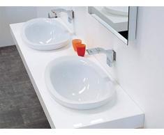 Flaminia Lavabo Io:Si Incasso Soprapiano (Io4260) Bianco