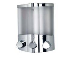 Croydex, Dispenser sapone Euro Trio- Chrom