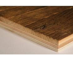 Braun (Abete di abete Mix) SAUNA di legno pannello con sonnenverbranntem legno, sonn Board
