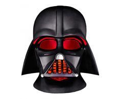 Groovy Elmetto Completo Darth Vader Star Wars Lampada LED da Scrivania con Funzionamento A Batteria 12 W, Nero, 15 x 16 x 15 cm