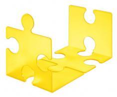 Han 9212-71 - Scaffale porta CD a forma di puzzle, colore: Arancio