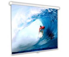 """Schermo Proiezione manuale a molla 203x203cm, Telo da Videoproiettore Avvolgibile 203 x 203cm """"Classic"""" ottimo per ogni Proiettore 100% Professionale di Qualità Superiore HD!"""