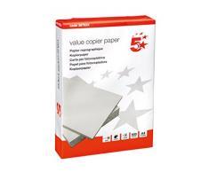5Star 39793X Risma di Carta Multifunzione per Fotocopiatrice, 80 gsm, A4, 500 fogli, 1 pezzo [Importato dalla Regno Unito]