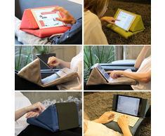 IPEVO PadPillow Cuscino Leggio per iPad Air e iPad mini e iPad 4 e iPad 3 e iPad 2 e 1 - Kaki Chiaro