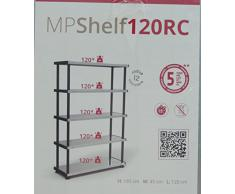 Terry 1002764 Mpshelf120Rc Scaffalature Kit , Grigio