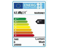 Kemot Lampada da Tavolo Professionale a 60 LED con Lente di Ingrandimento 5D