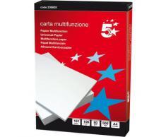 Carta 5 Star Blu f.to A3 80 gr 933541 (risma singola)