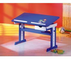 Links - 40100600, Scrivania per bambini, con ripiano regolabile, Blu (blau)