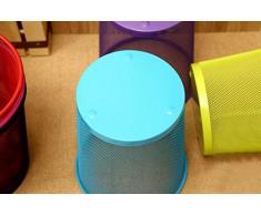 Cosanter cestino cestino durevole resistente mesh design leggero carta in metallo per ufficio