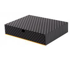 Goldbuch 85606 - Cassettiera da scrivania grande, nero
