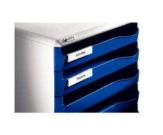 Leitz 5280-00-95 - Cassettiera da scrivania, colore: Nero