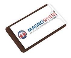 Porta etichette magnetico per scaffalature, Dimensioni: 8,6cm x 8,6cm - 5 pezzi, Buste e tasche magnetiche