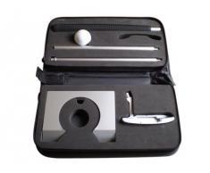 Geschenkbox GmbH - Set da golf da ufficio, in custodia nera