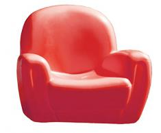 Chicco 30004 Poltroncina, 82x40x49, Colori assortiti: Rosso/Blu/Arancione/Verde