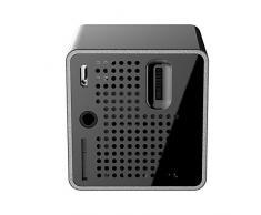 docooler Portable Ultramini Proiettore 1080P HD Beamer Tiro 64G Dello Schermo da 70 Pollici Supporto TF 1000mAh Ricaricabile Porta 3.5mm per la Casa uso Esterno