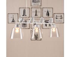 Creative 3 luci, motivo: uccellini in un ristorante-Lampada a sospensione, modello Nordic studi lampadario da camera appendere luci Lampadario a incasso