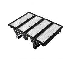 Viugreum Faretto LED da Esterno 400W 40000 lumen Bianco Caldo 3000K Pannelli Modulari LED Esterni, Proiettore Faro LED da Esterno Impermeabile IP67, Luce per Giardino