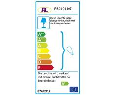 Reality Leuchten Reality R82101107 Nantes Faretto, 1xGU10, 3 W LED, Nichel Opaco, 12.5 cm GU10