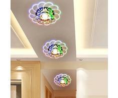 20 * 7 cm moderna cristallo lampadario da soffitto per 5 W LED multicolore lampada soggiorno, veranda Lighting