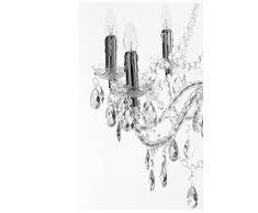 Wink design, Boston , Lampadario 8 Luci, Trasparente, Diametro 80 cm/Altezza 77 cm