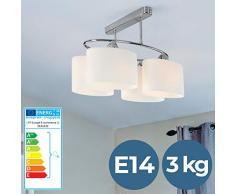 Jago Plafoniera lampada da soffitto lampadario da soffitto a quattro luci