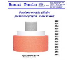 Paolo Rossi paralume cilindro produzione propria - made in Italy (modello cilindro, 40 Centimetri)