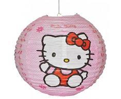 Hello Kitty Lanterna Di Carta / Paralume Per Lampada / Lampion