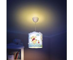 Philips Disney - Lampadario in plastica, motivo: Winnie the Pooh, per cameretta bambini
